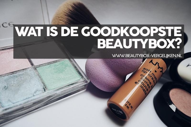 wat is de goedkoopste beautybox in Nederland