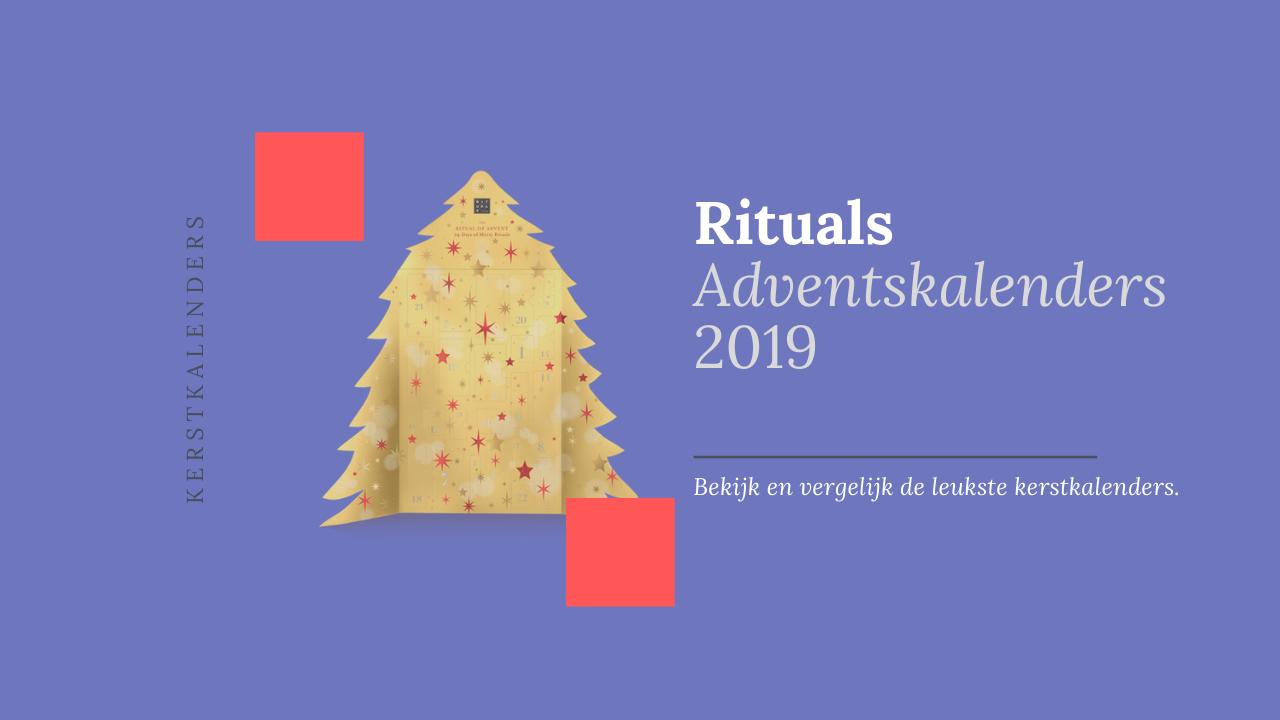 rituals adventskalenders 2019 kerstkalenders